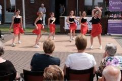Showdansoptreden eindvoorstellingen Oost-Havendijk